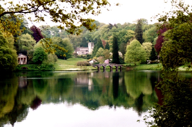 grounds of Stourhead