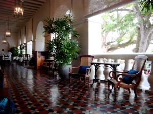 verandah, Amangalla Hotel