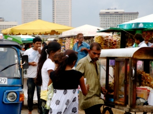 snacks, Galle Face Green