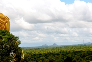 Buddha's view of Sigiriya