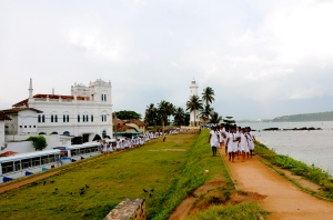 Galle promenade, from the lighthouse