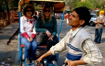 tuk-tuk'ing around Delhi