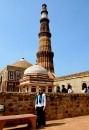 The Qutb Minar & Quwwat-ul-Islam mosque