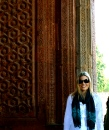 Qutb Minar - details of sandstone