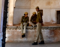 patrolling the Amber Fort