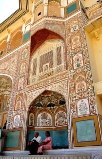 Amber Fort doorway