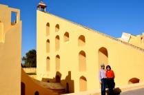 Jantar Mantar's giant observation instruments