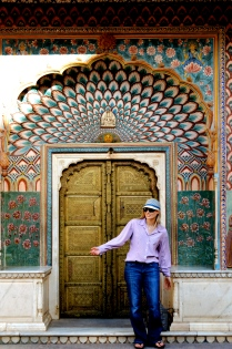 ornate doorway, City Palace