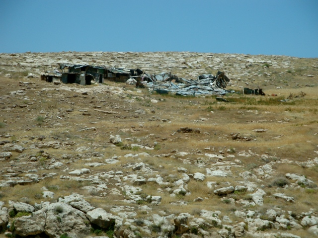 Bedouin life; typical terrain of the country