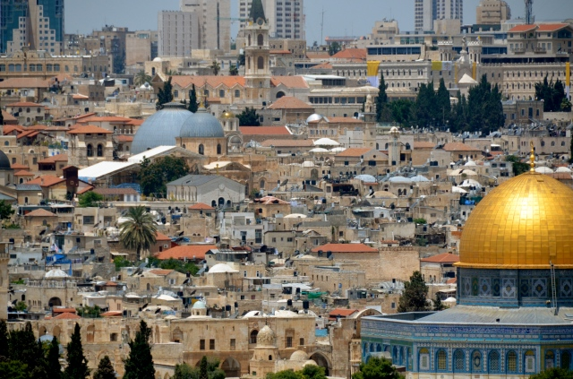 Old City, viewed from the Mount of Olives