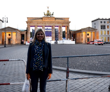 at the Brandenburger Tor