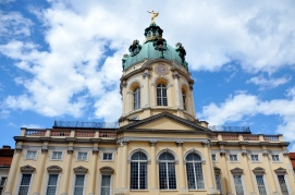 spectacular facade of the Old Palace, Schloss Charlottenburg