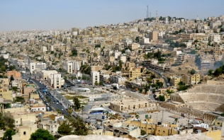 Amman, view from the Citadel