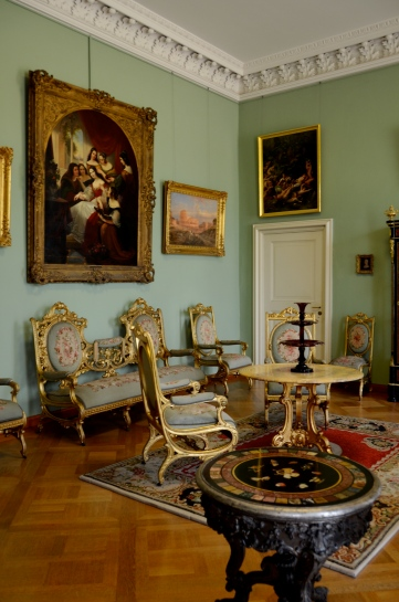 palace room, Schloss Charlottenburg