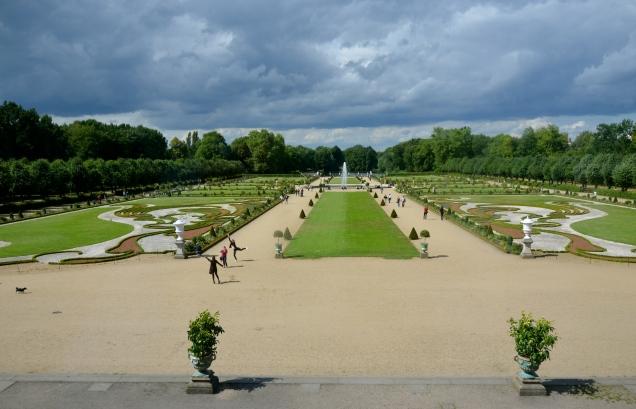 Schlosspark (palace park), Baroque-style garden, Schloss Charlottenburg