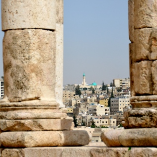 Temple of Hercules, view of Amman