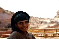 Mamoud from the Bdul tribe of Petra, this guy is on page 242 of Insight Guide