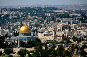 Dome of the Rock viewed from Mount of Olives