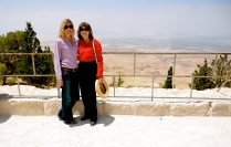 the Promised Land, view from Mount Nebo