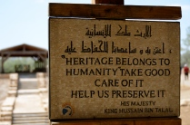 much revered Royal Family's proclamation at Jordan River