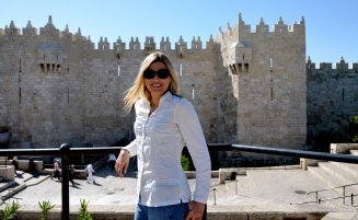 Damascus Gate, one entrance gate to the Old City