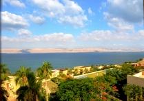looking across Dead Sea, towards Israel