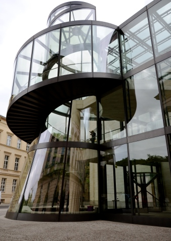 I M Pei designed exhibition hall, Deutsches Historisches Museum