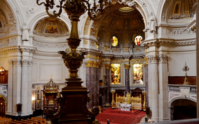 church interior, Berliner Dom