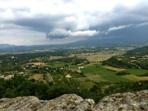 view from Gordes ramparts