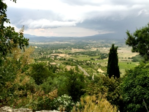 view from Gordes ramparts
