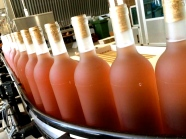 rosé production