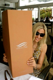 very large menu, Miramar Plage, Cannes