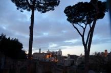 twilight view, Monumento Nazionale a Vittorio Emanuele II