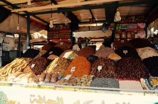 spice vendor, Plaza Djemaa El-Fna