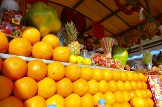 fresh orange juice, Plaza Djemaa El-Fna