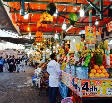 marketplace, Plaza Djemaa El-Fna