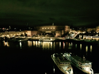 Royal Palace, view from Grand Hotel